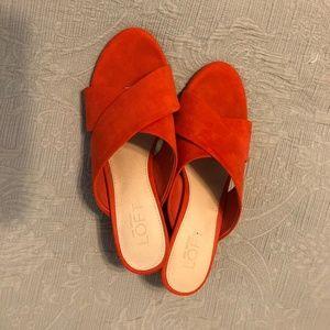 Ann Taylor Loft Sandals with heel